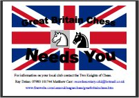 Great Britain Chess Needs You campaign