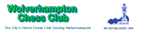 Green theme Wolverhampton Chess Club logo